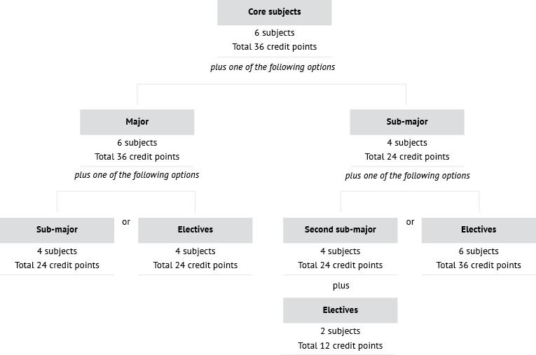 Course diagram: C04018